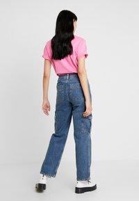 BDG Urban Outfitters - SKATE - Straight leg jeans - blue denim - 2