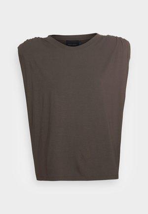 SKY - T-Shirt print - dark army