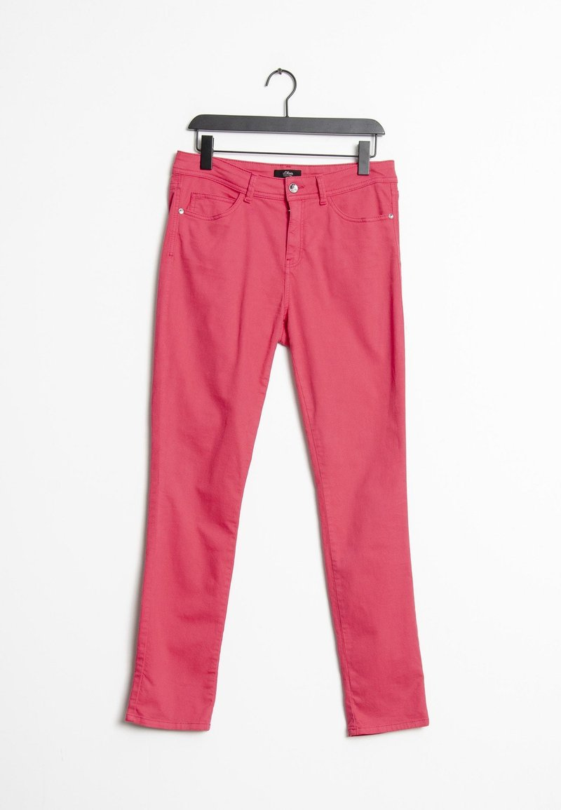 s.Oliver BLACK LABEL - Slim fit jeans - pink