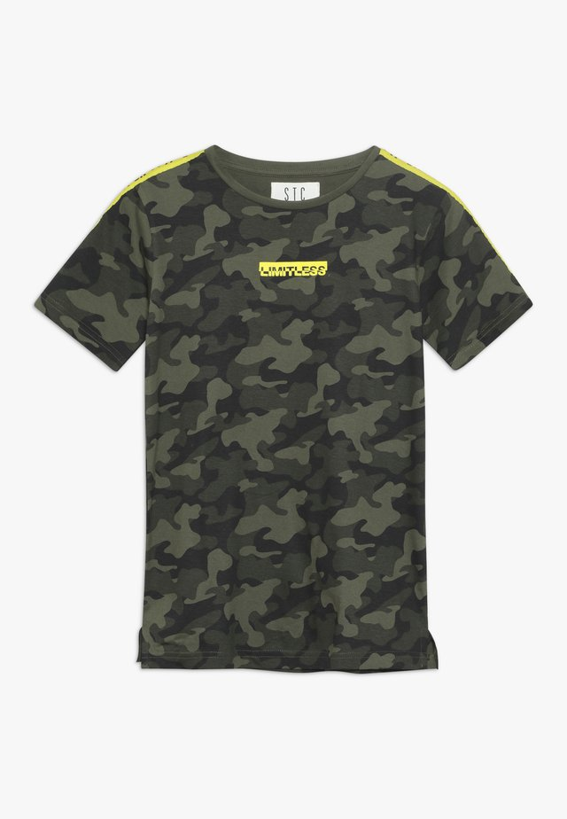 TEENAGER - Print T-shirt - khaki