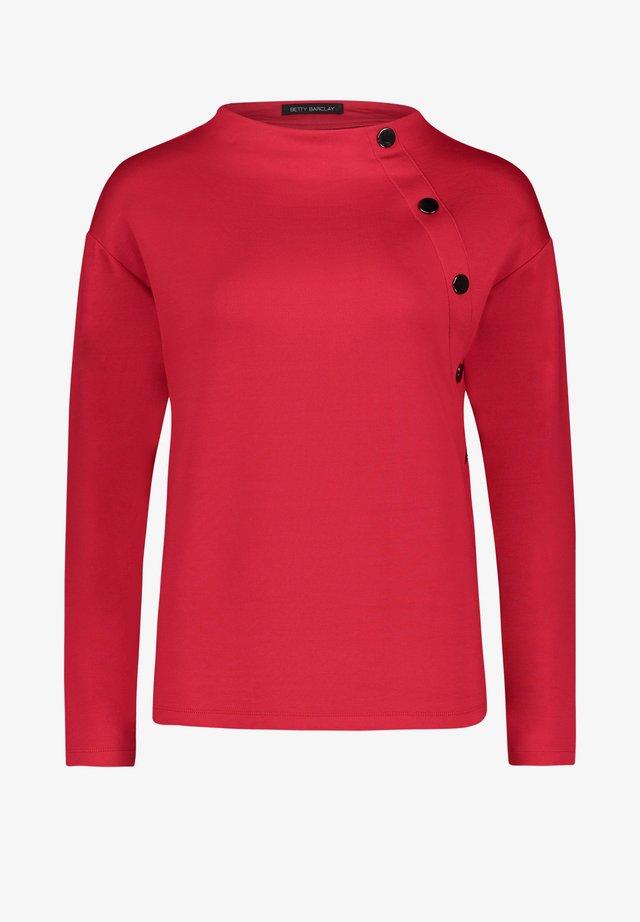 Sweatshirt - tango red