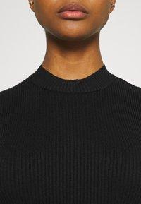 Even&Odd - Pletené šaty - black - 3