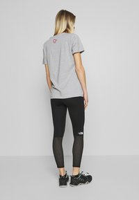 The North Face - ACTIVE TRAIL MESH HIGH RISE TIGHT - Tights - black - 2