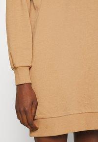 ONLY - ONLVINA HIGHNECK DRESS - Day dress - burro - 5