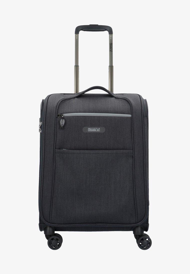 Stratic - FLOATING  - Wheeled suitcase - black