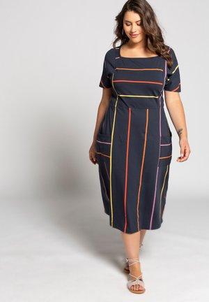 RAYURES MODERN - Jersey dress - bleu marine