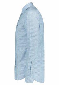 Tommy Hilfiger - SLIM DOTTED SQUARE PRINT - Shirt - blau - 1