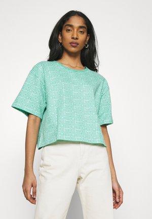 WATCHER TEE - Print T-shirt - jade multi