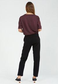 ARMEDANGELS - MAGDAA MAGDAA - Trousers - black - 2