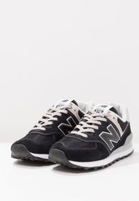New Balance - WL574 - Sneakersy niskie - black - 3