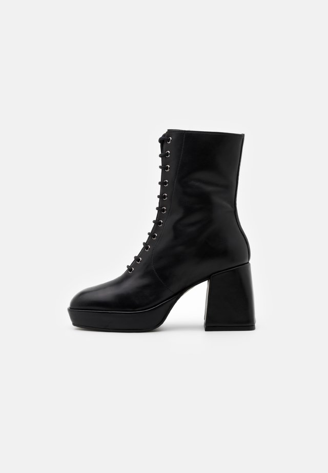NOELIA - High heeled ankle boots - black