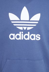 adidas Originals - TREFOIL HOODIE UNISEX - Hoodie - crew blue - 2