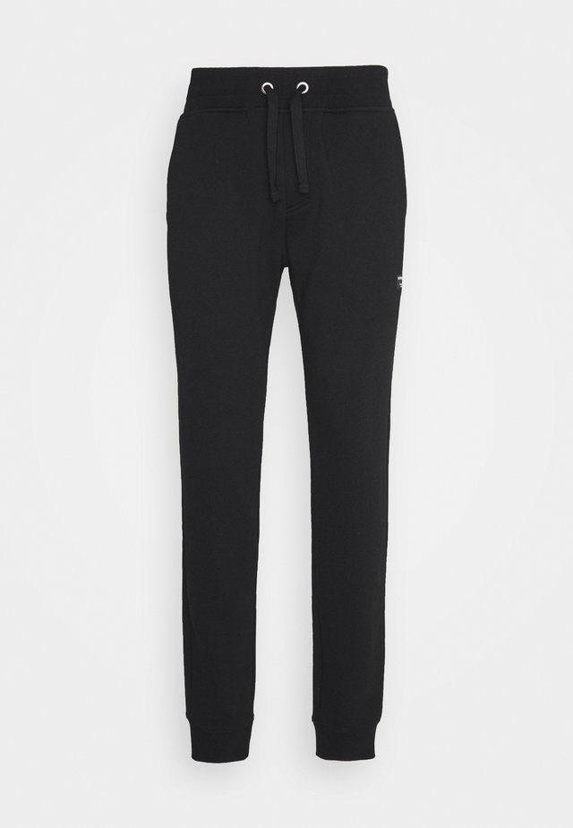 CENTRE TAPERED PANT - Tracksuit bottoms - black beauty