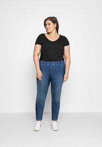 CAPSULE by Simply Be - AMBER - Skinny džíny - mid blue - 1