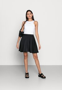 Calvin Klein Jeans - MICRO BRANDINGTANK - Top - white - 1