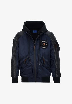 Waterproof jacket - navyblue