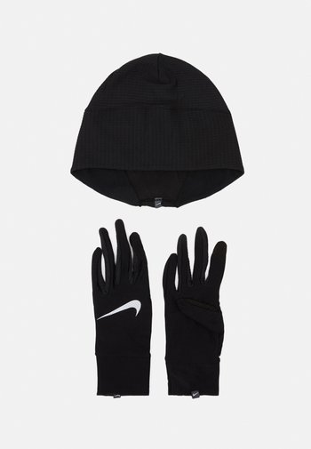 WOMENS ESSENTIAL RUNNING HAT AND GLOVE SET