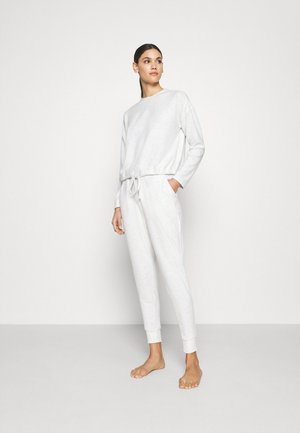 SUPER SOFT CREW PANT SET - Nattøj sæt - grey marle