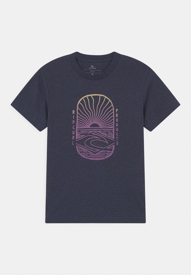 LIGHTHOUSE BOYS - T-shirt print - navy marle