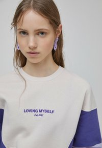 PULL&BEAR - Sweatshirt - purple