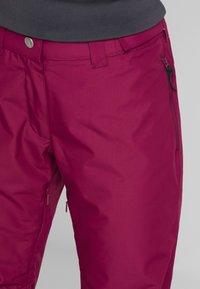 Wearcolour - FINE PANT - Skibukser - tibetan red - 3