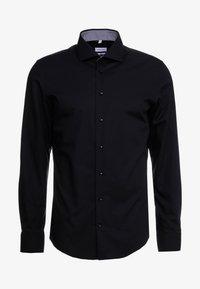 Seidensticker - SLIM FIT - Formal shirt - black - 4