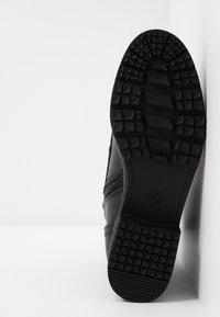 Jana - Šněrovací kotníkové boty - black - 6