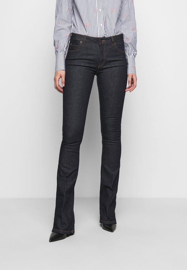 MIAMI - Flared Jeans - indigo blue
