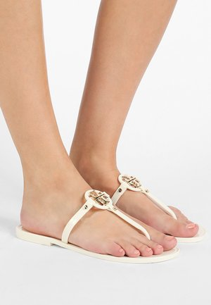 MINI MILLER FLAT THONG - Pool shoes - ivory