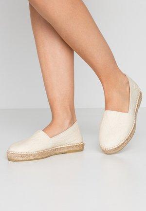 SLFMARIE  - Espadrillot - white