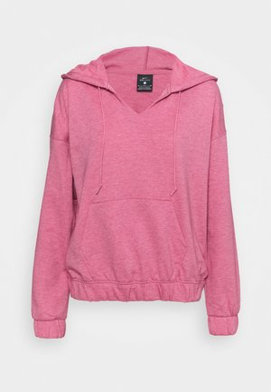 CORE COLLECTION COVERUP - Hoodie - desert berry/heather/lt arctic pink