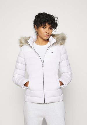 BASIC HOODED JACKET - Doudoune - white
