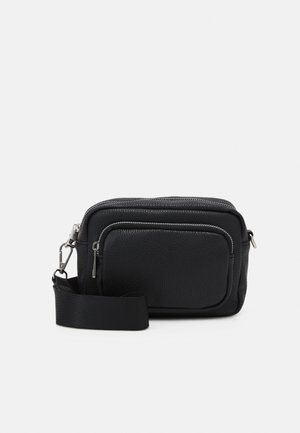 DUKE GRAINY XBODY - Across body bag - black