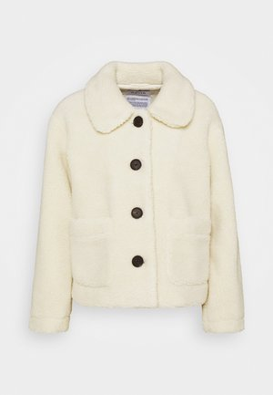 BUTTON SHORT JACKET - Winter jacket - off white