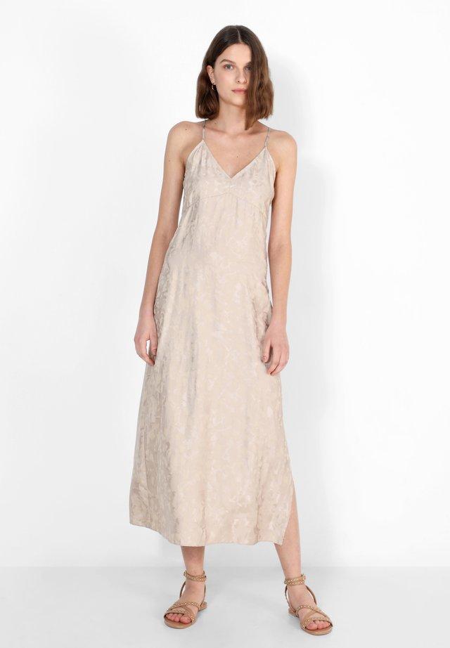 Korte jurk - stone