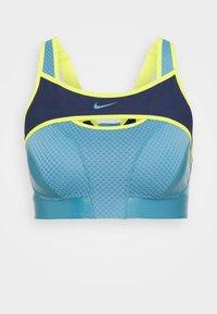 Nike Performance - ALPHA ULTRABREATHE BRA - Urheiluliivit: korkea tuki - cerulean/midnight navy - 0
