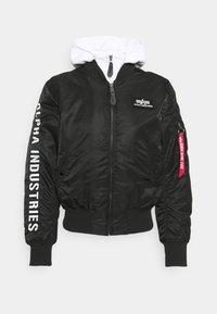 Alpha Industries - Bomber Jacket - black/white - 6