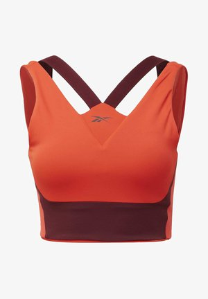 STUDIO MEDIUM-IMPACT BRA - Sports bra - red
