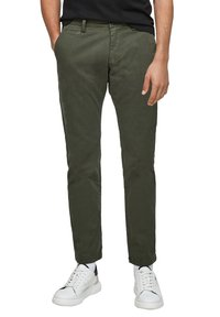 s.Oliver - Trousers - olive - 5