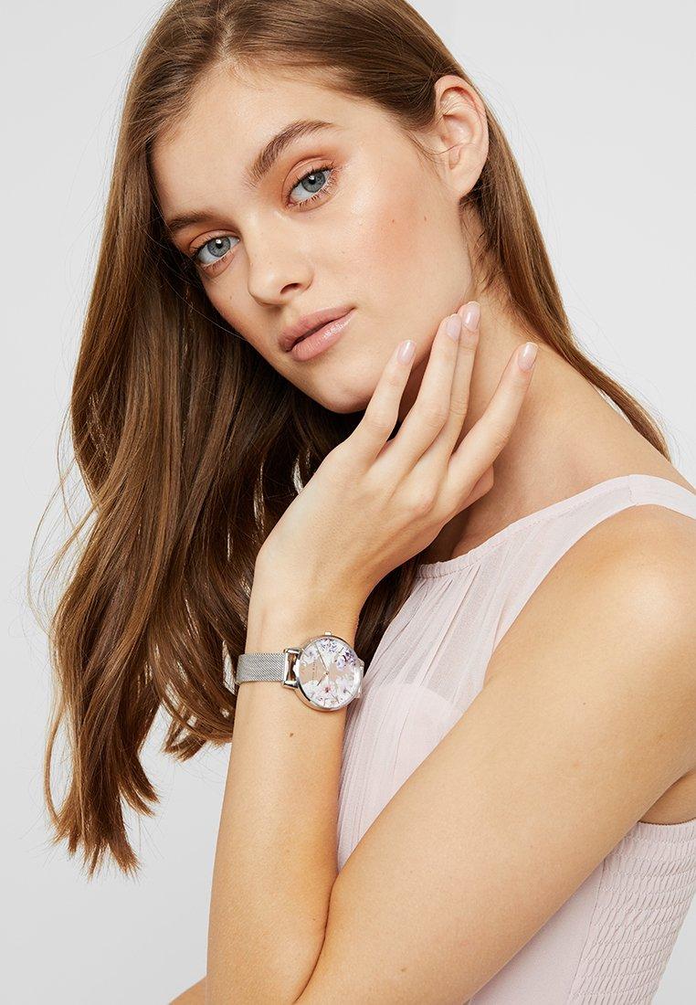 Olivia Burton - SUNLIGHT FLORALS - Watch - silver-coloured