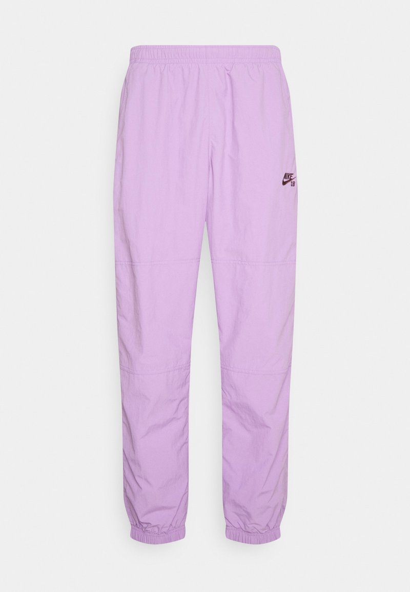 Nike SB - NOVELTY TRACK PANT UNISEX - Pantalon de survêtement - violet star/dark wine