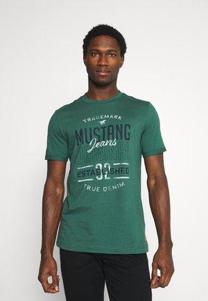 ALEX - Print T-shirt - dark sapphire