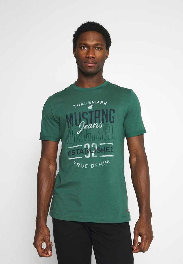 ALEX - T-shirt print - dark sapphire