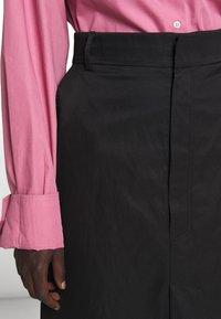 Rika - RAY SKIRT - A-line skirt - black - 5