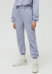 PULL&BEAR - Teplákové kalhoty - grey - 0