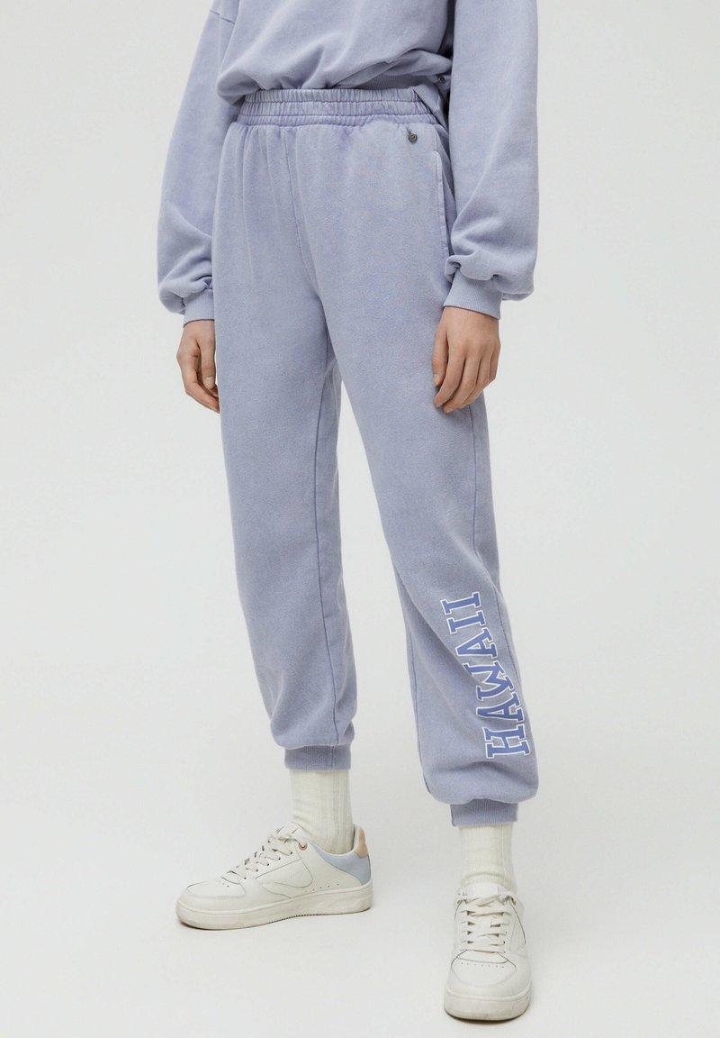 PULL&BEAR - Pantaloni sportivi - grey