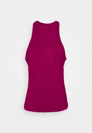 TECH BOS TANK - T-shirt sportiva - berry