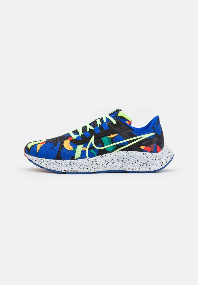 Nike Performance - AIR ZOOM PEGASUS 38 KA UNISEX - Zapatillas de running neutras - grain/racer blue/black/glacier blue/lime glow/obsidian
