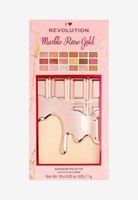 I Heart Revolution - I HEART REVOLUTION MARBLE ROSE GOLD CHOCOLATE PALETTE - Eyeshadow palette - multi - 3