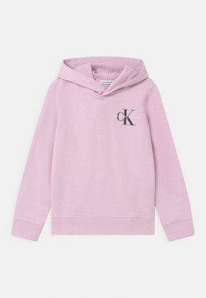 SMALL MONOGRAM HOODIE UNISEX - Mikina s kapucí - lavender pink